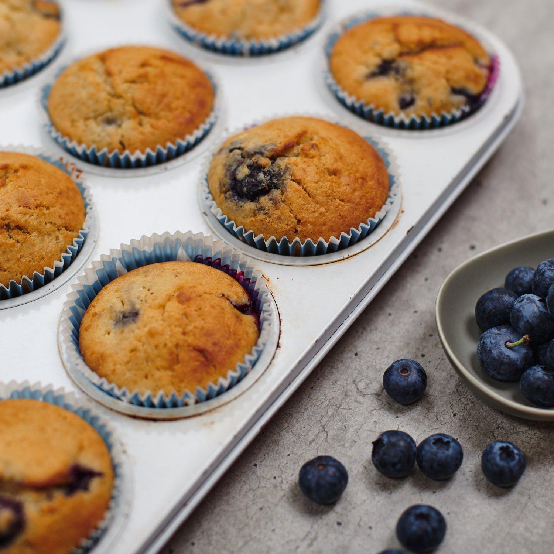 boruvkove muffiny